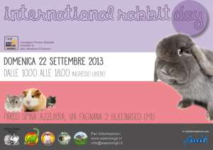 International Rabbit Day 22 settembre 2013