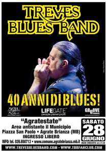 Treves Blues Band, Agrate 28 giugno 2014