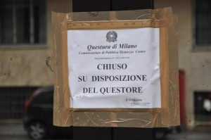 sequestro Polizia questore
