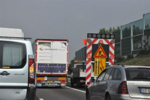 incidente, coda, autostrada